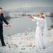 Ślubna, zimowa sesja plenerowa - Lublin