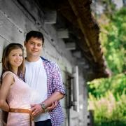 Jola i Grześ - sesja narzeczeńska w Skansenie