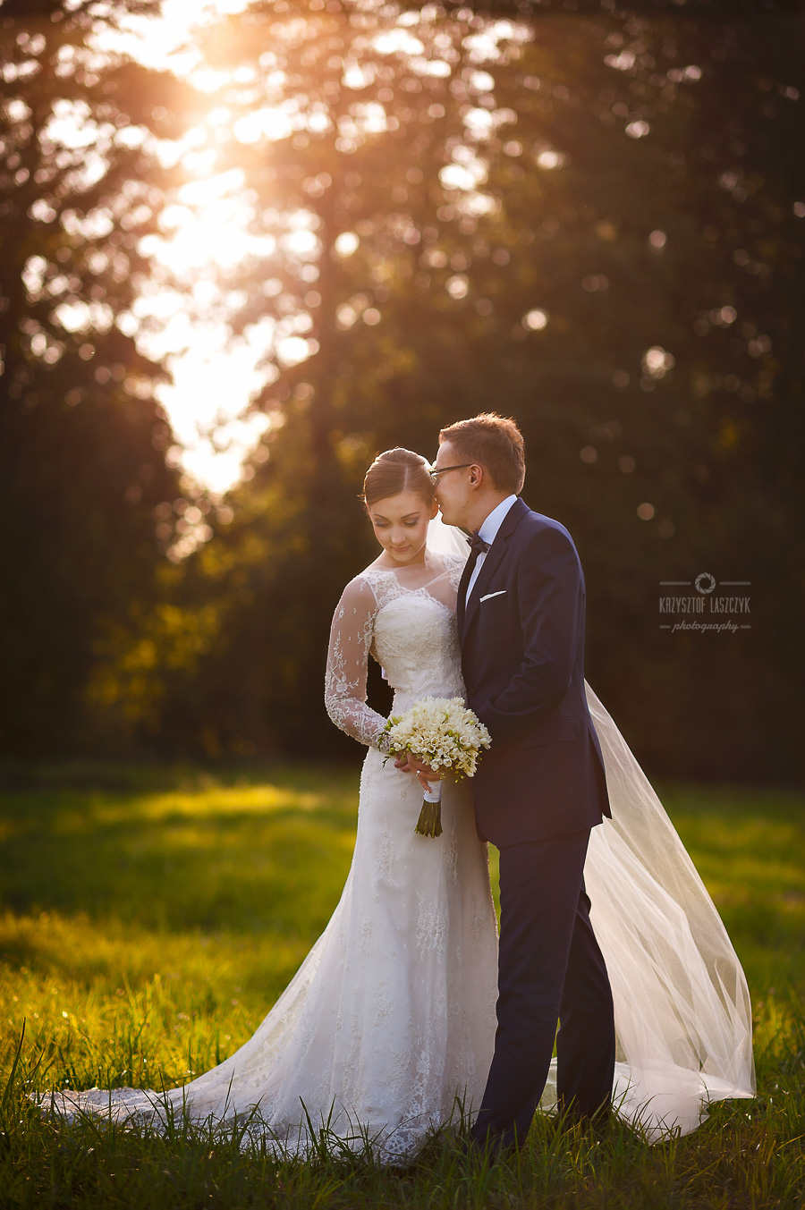 ślubna sesja plenerowa Nałęczów